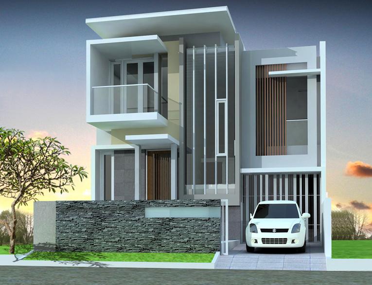 Model Desain Tampak Depan Rumah Minimalis 2 Lantai Yang Modern Keanu Seo Website